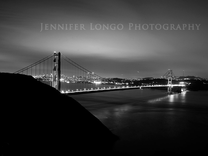 The Golden Gate Bridge at Marin Headlands