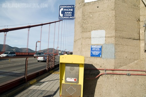 Golden Gate Bridge Suicide hotline