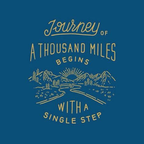 Journey of a thousand miles quote